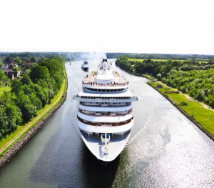 Kreuzfahrtschiff N-O-Kanal
